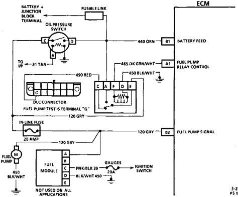 chevy truck fuel pump wiring diagram wiring diagram