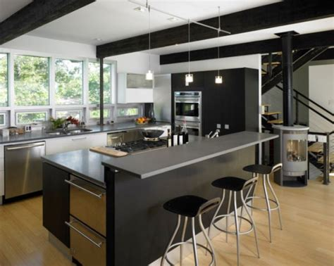 modern kitchen island ideas colorful kitchen counters for a cheerful and dynamic d 233 cor