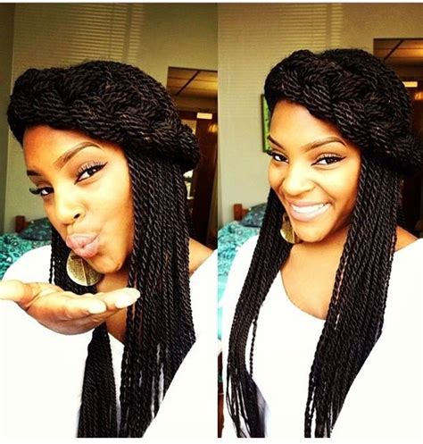 ways to style twisting hair 29 senegalese twist hairstyles for black women stayglam