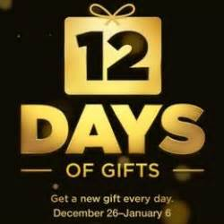 12 days of gifts a traditional iphone christmas app