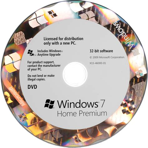 microsoft windows 7 home premium 32 bit oem gfc 00564 b h