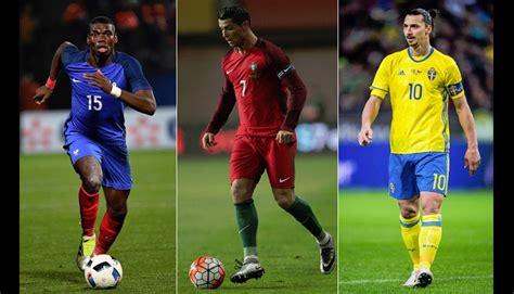 imagenes romanticas de jugadores eurocopa 2016 el mejor jugador de cada selecci 243 n