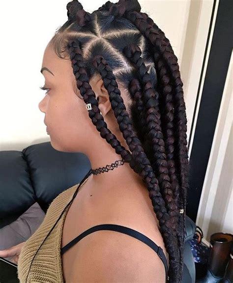 hair style to do with thick box plaits best 25 jumbo box braids ideas on pinterest bo 238 te jumbo