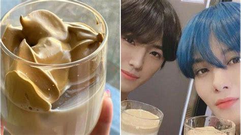 resep  membuat dalgona coffee   viral