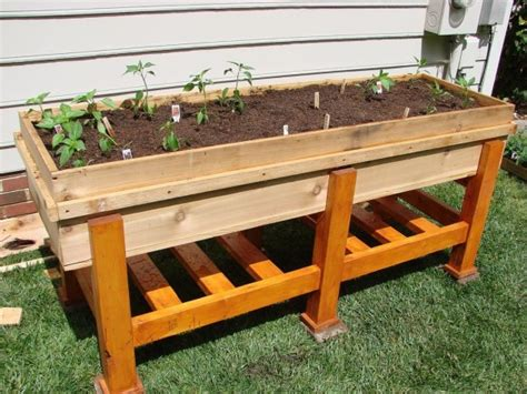 12 Outstanding Diy Planter Box Plans Designs And Ideas Planter Box Vegetable Garden