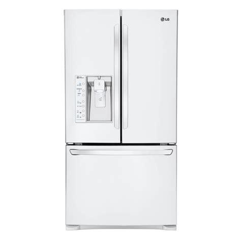 Door Refrigerator White by Lg Electronics 28 8 Cu Ft Door Refrigerator In