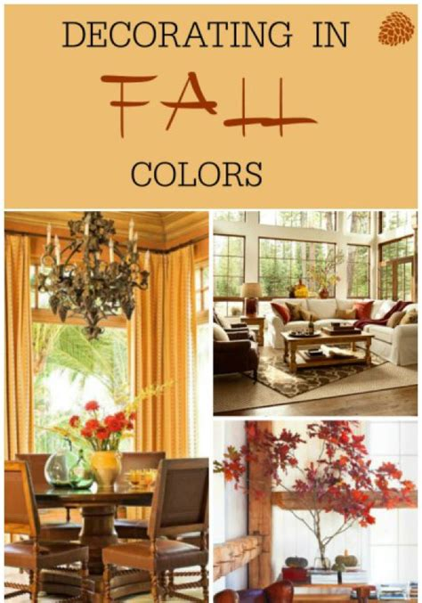 decorating with fall colors decorating with fall colors fox den rd