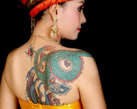 dragon tattoo on woman posted in chinese dragon tattoos
