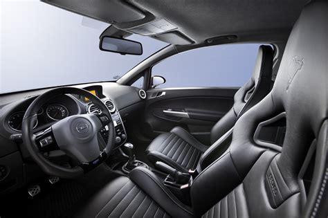 opel corsa opc interior opel corsa opc nurburgring edition with 210 hp