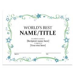 Award Certificate Template Microsoft Word by How To Create Certificates With Microsoft Word Microsoft