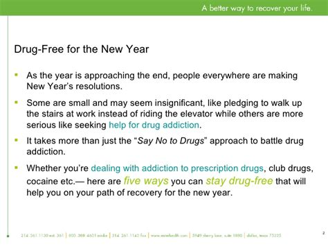 drugs new year new year s resolution get help for addiction