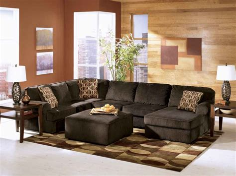 livingroom sectional vista chocolate sofa sectional living room set