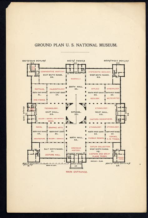 smithsonian floor plan revisiting the arts and industries building