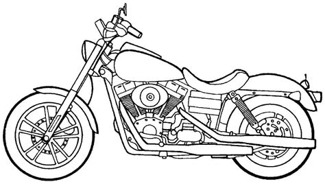 coloring pages of motorcycle harley davidson harley davidson motorcycle coloring pages coloringstar