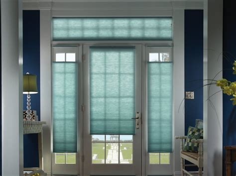 Glass Front Door Shades Outside Mount Blinds Color Med Home Design Posters