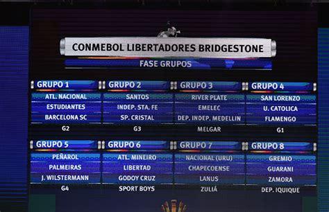 Calendario U De Chile Copa Libertadores 2015 Grupos Da Copa Conmebol Libertadores 2017 Conmebol
