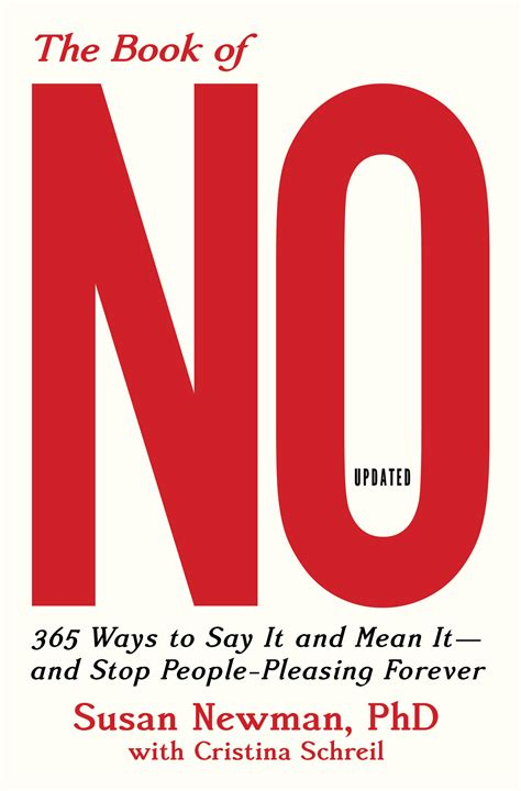 the book of no 365 ways to say it and it and stop