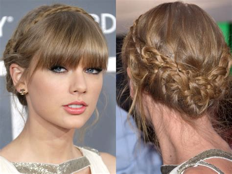 taylor swift short hair tutorial step by step tutorial for taylor swift s braided updo