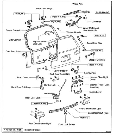 2006 Toyota Sequoia Rear Door Latch Document Moved