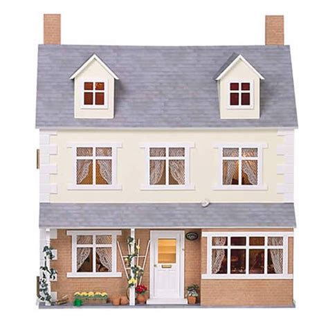 dolls house cottage springwood cottage dolls house kit dolls house kits 12th scale 1749 from bromley