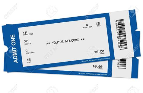 template for tickets with stubs concert ticket template pictures to pin on