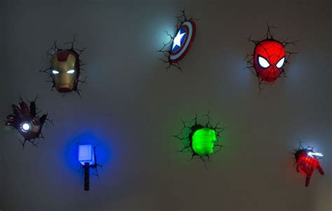 decorate walls of your kid s room with cool 3d marvel