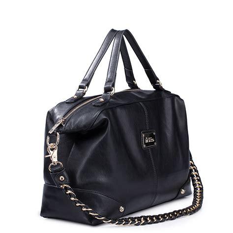 multi function hobo tote bag black