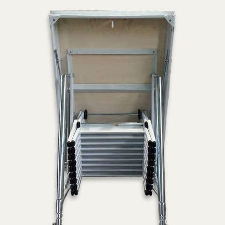 scala retrattile per soffitta retrattile a soffitta pantografo scale a scomparsa