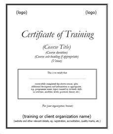 Trainer Certificate Template by 6 Free Certificate Templates Excel Pdf Formats