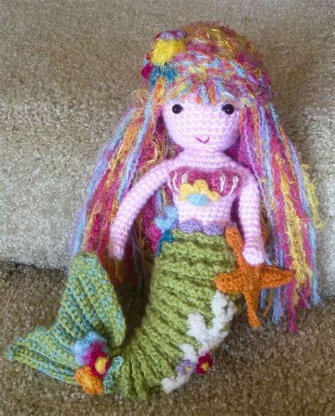 pinterest mermaid pattern crochet arianna mermaid doll pattern by gourmet crochet