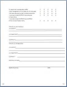 free employee exit template exit form format in doc pdf