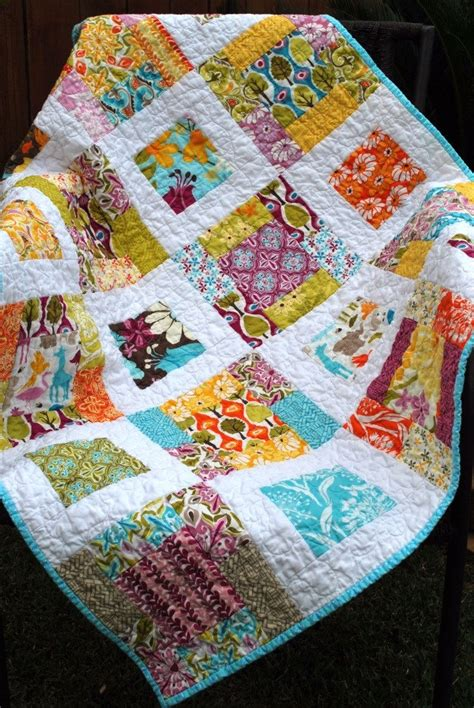 The Patchwork Quilt - baby patchwork quilt central park quilt