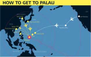 how to get to palau 7 gateways to get you into palau