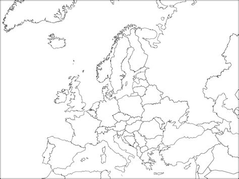 printable map europe countries capitals file europe political chart complete blank svg wikimedia