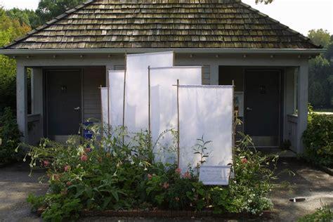 screening ideas for backyards a simple garden screen idea fine gardening