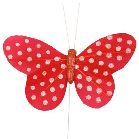 imagenes mariposas rojas mariposas lunares rojas pack 6 uds