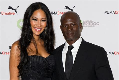 Kimora Simmons New Boyfriend Dijimon Hounsou by Kimora And Djimon Split Say Sources Ny Daily News