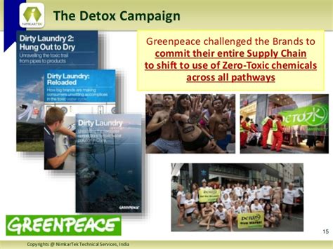 Greenpeace Detox Mrsl by Chemical Management Professional Certificate Course