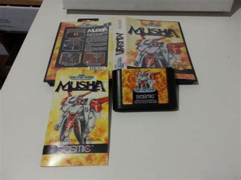 musha sega genesis sega genesis musha m u s h a box manual cartridge