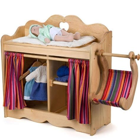 Wooden Baby Doll Changing Table   WoodWorking Projects & Plans