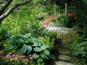shade garden path contemporary landscape other by
