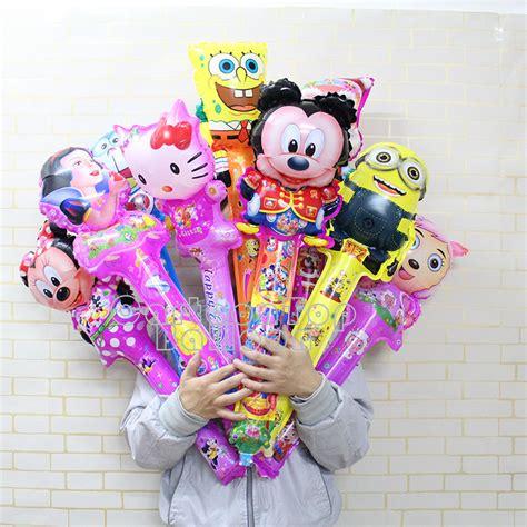 Balon Foil Spongebob Stik 50pcs lot children s toys hello spongebob balloons