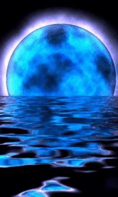 moon  blue gif find  gifer