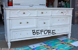 remodelaholic repainting an white dresser awesome