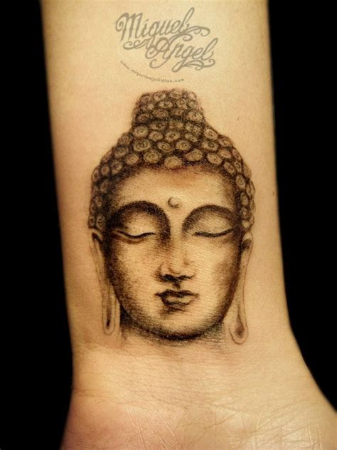 buddha head tattoo buddha on wrist tattoobite tattoos
