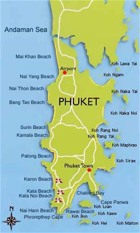 karon resort map karon resort phuket thailand