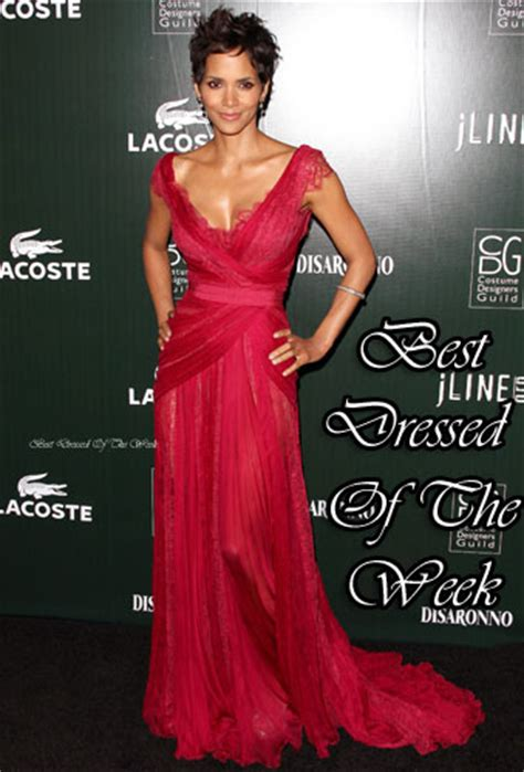 Frock Horror Of The Week Halle Berry by Best Dressed Of The Week Halle Berry In Elie Saab
