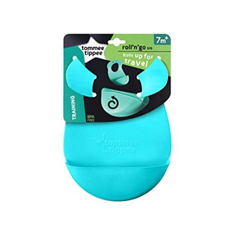 Roll N Go Bib Tommee Tippee Limited tommee tippee roll n go bib turquoise babymama