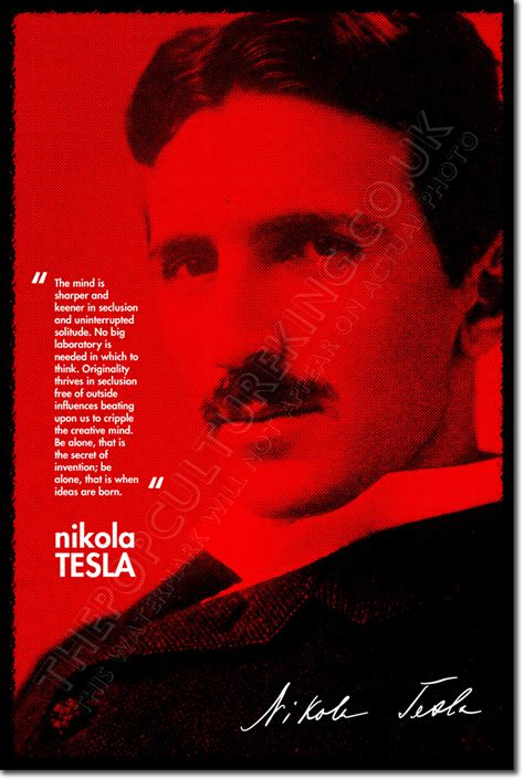 short biography nikola tesla nikola tesla art photo print poster gift inventor genius