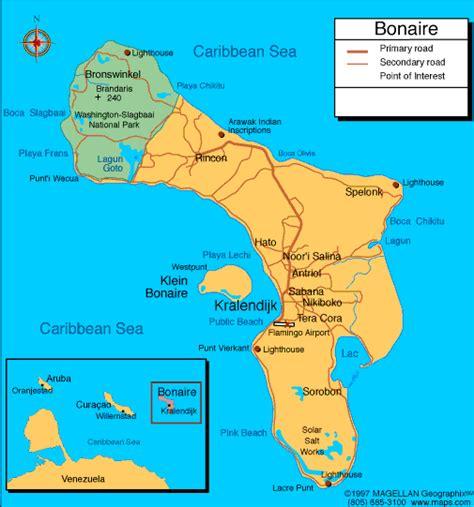 bonaire map bonaire 2013